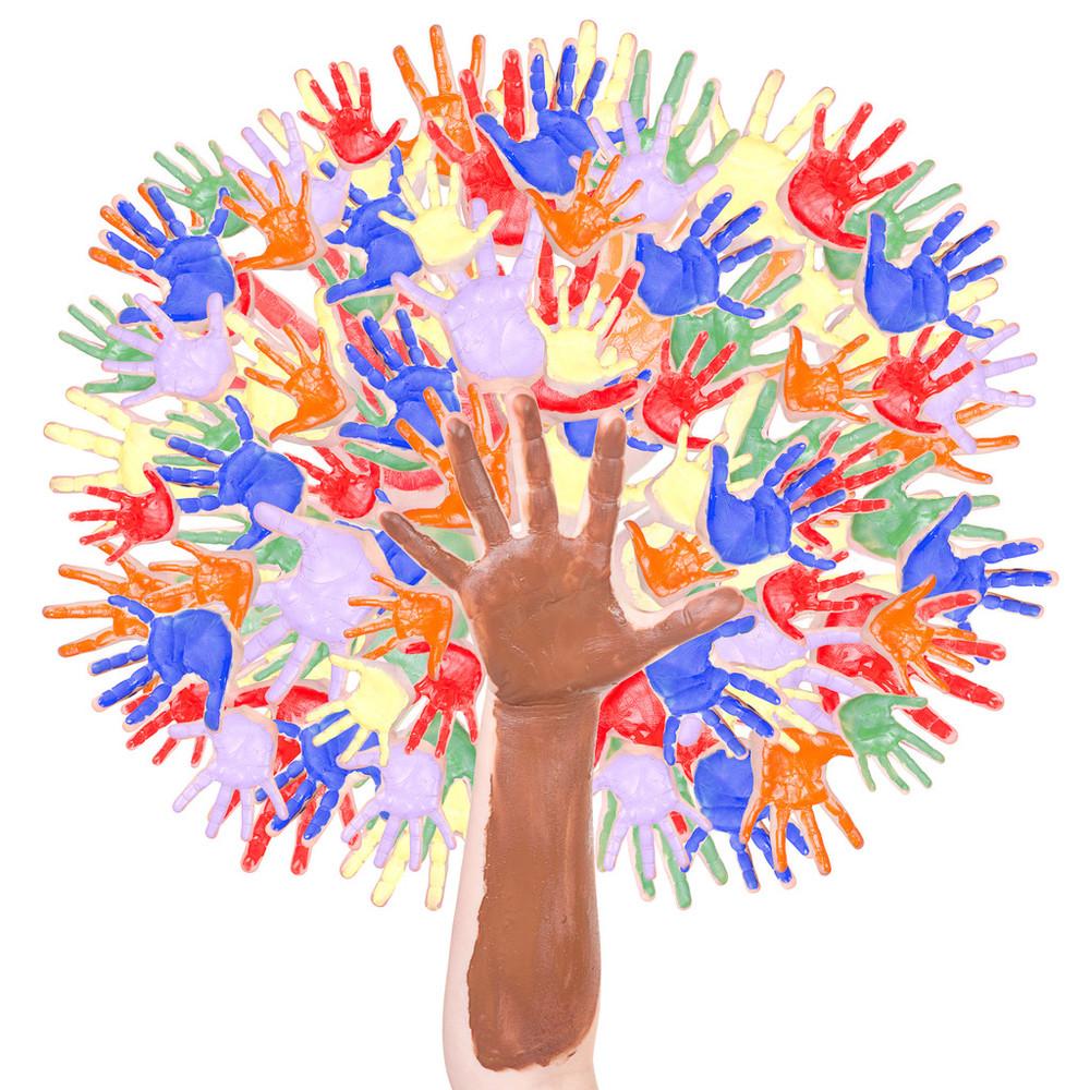 黄色,教育,绿色,墨水,设计,手掌,团队,团结,形状,颜料,艺术,幼儿园楼图片