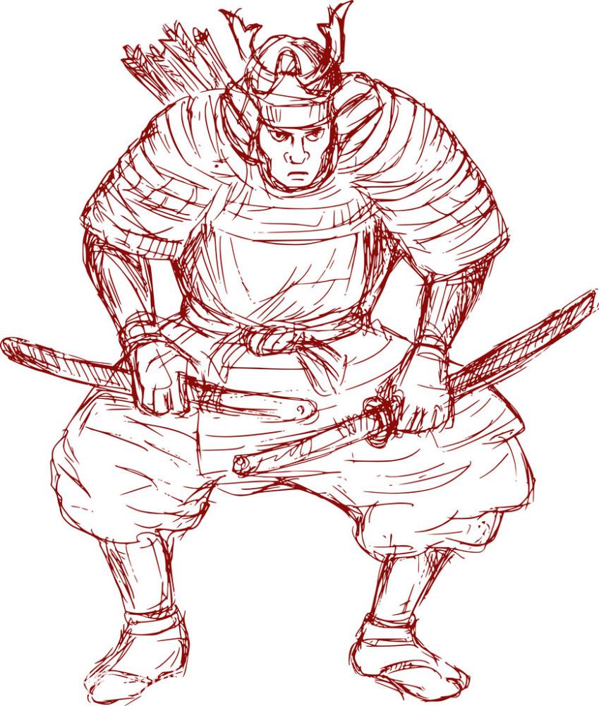 武士粤�_白色,打斗,孤独,绘画插图,剑,男人,男性,前面,日本人,武士,艺术品与