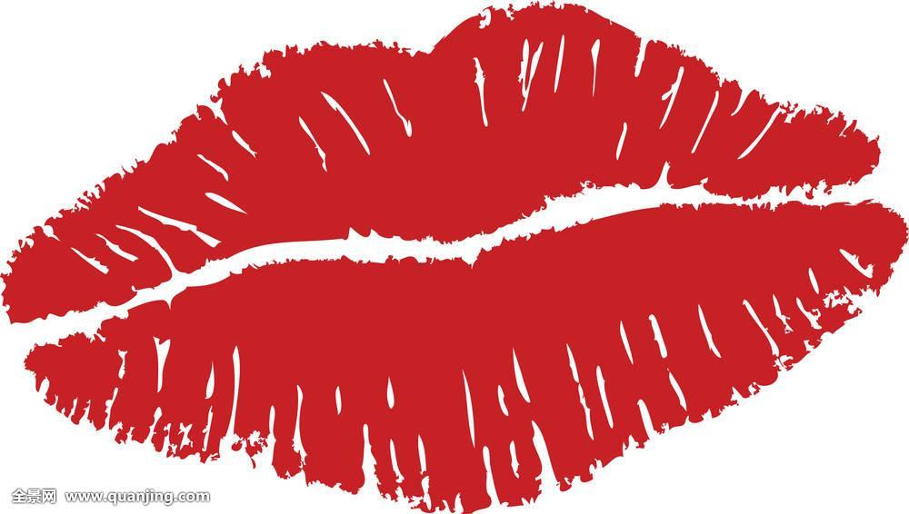约会,特写,表情,女性,女孩,光泽,心形,形状,插画,隔绝,吻,女士,嘴唇图片
