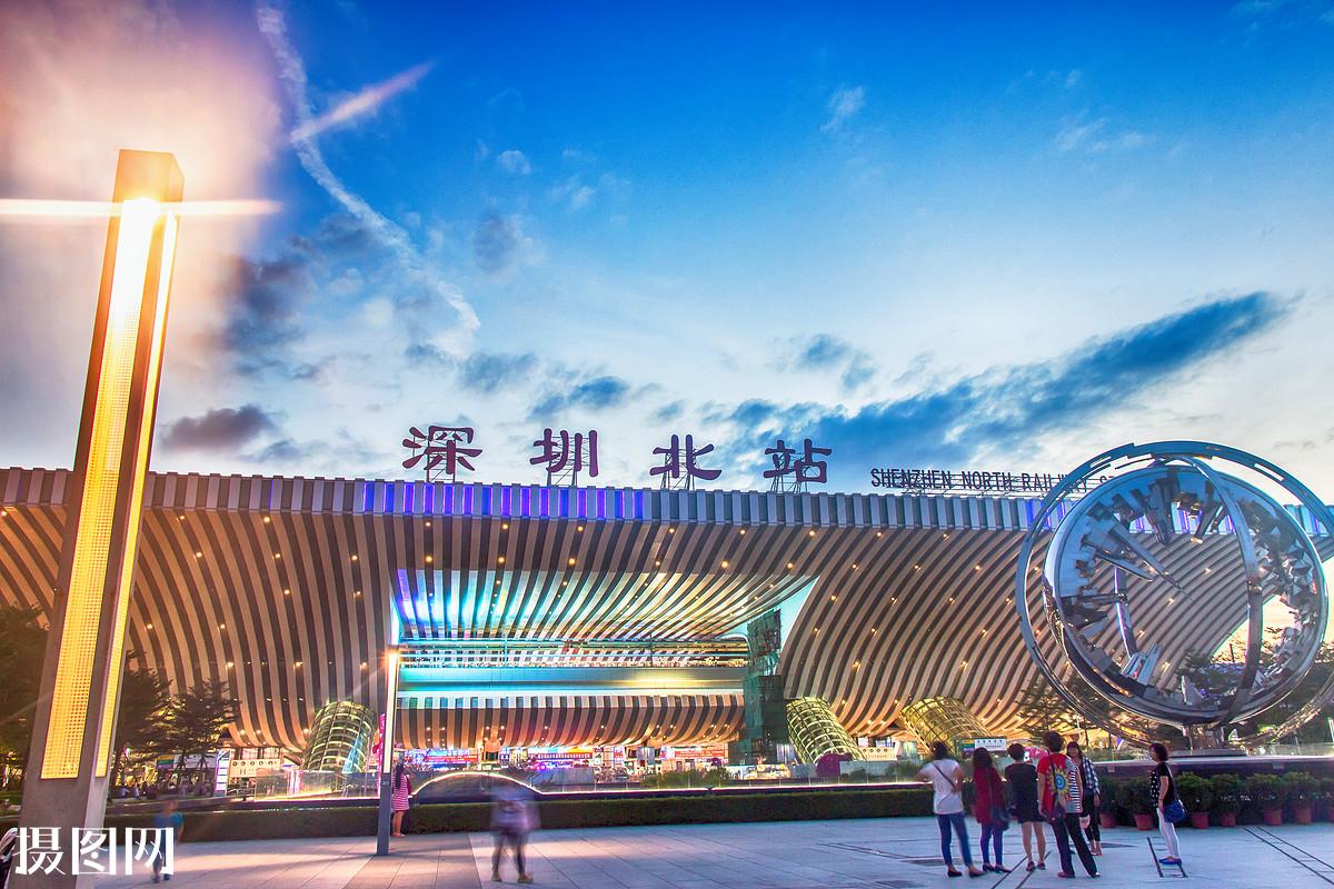 深圳北站是高铁站吗 深圳高铁哪个站是离罗湖近的 深圳北站吗?图片