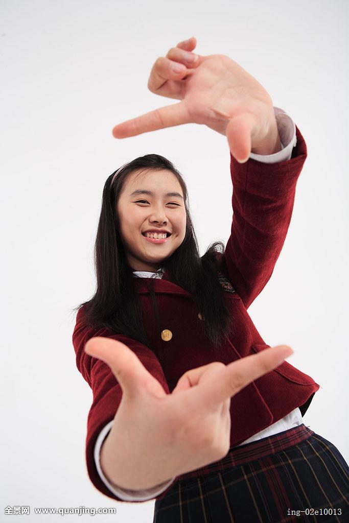亚洲制服下载_人,亚洲人,韩国人,青春期,东方,年轻,女人,一个,姿势,站立,手,制服,学