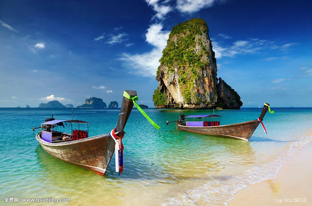 热带沙滩,安达曼海,泰国图片