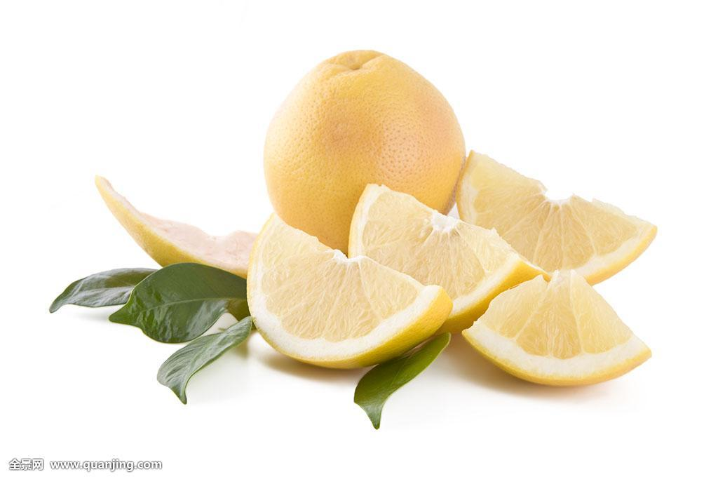 白色,柚子,隔绝图片