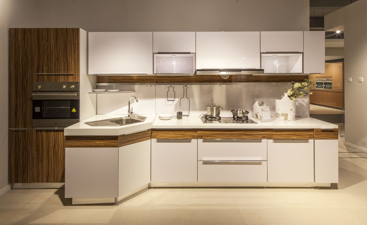 橱柜 整体厨房 高清晰图片