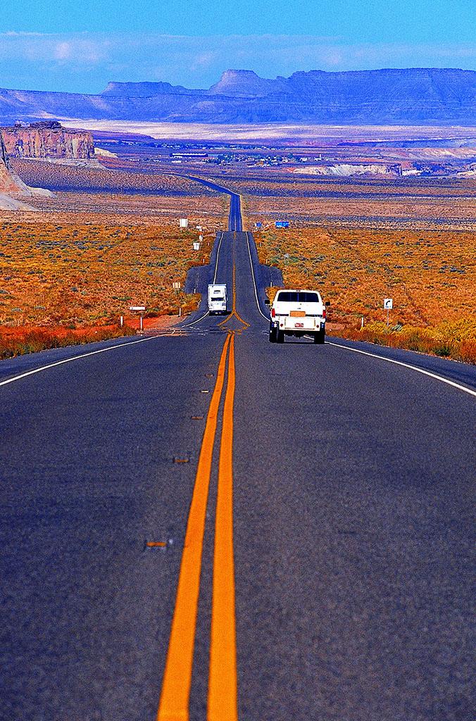 美国南部主要哹n_户外,亚利桑那,汽车,外国,海外,向前,弯路,城市道路,一个,美国南部