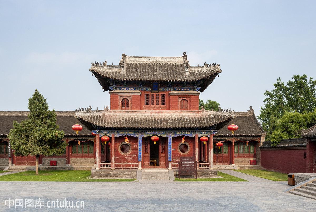 中国中东部,自然风景,皇陵,旅游景点,中式建筑,古建筑,太昊陵建筑群图片