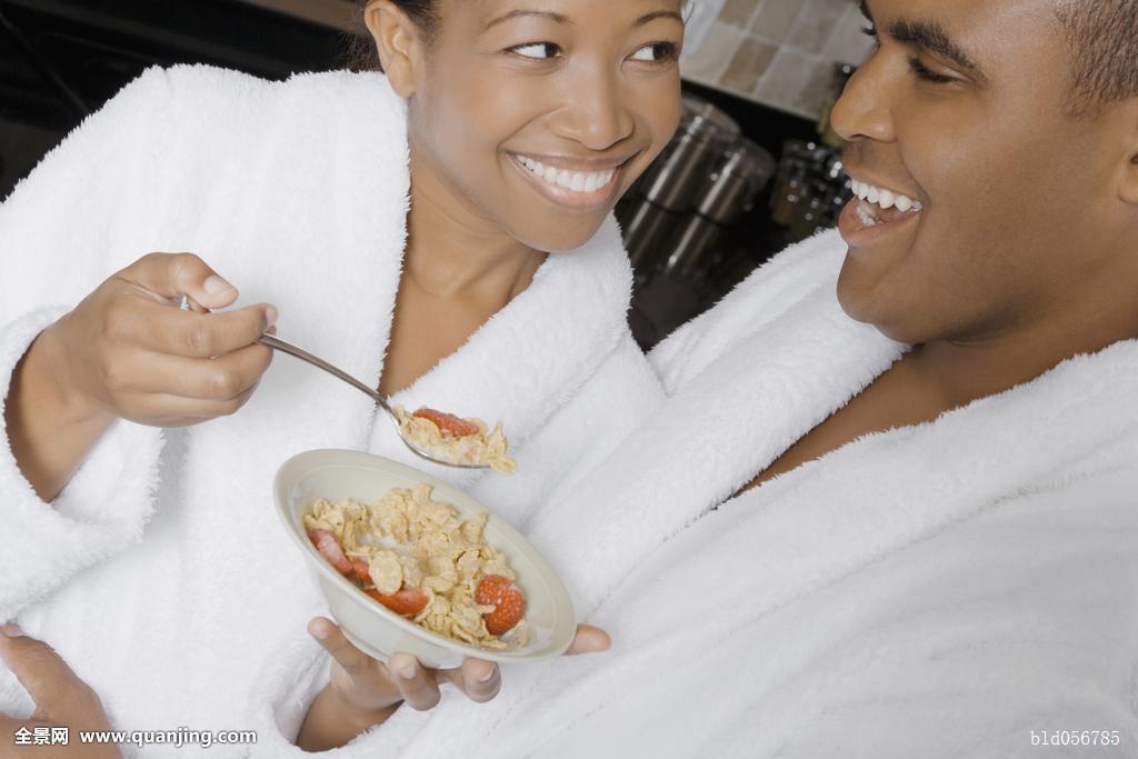非洲,伴侣,吃饭,早餐图片