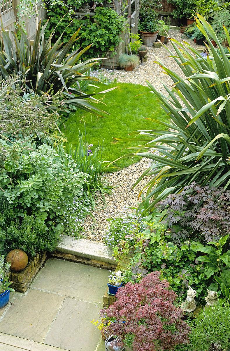 图_家庭小花园设计图片_小花园种植_楼顶小花园图图片