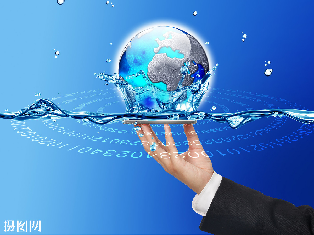 全球哈���d_水,,未来科技,方便技术,水滴,高超蓝色,科学,宇宙地球全球化信息