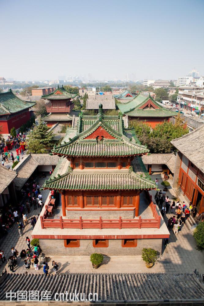河南开封府景区的建筑图片