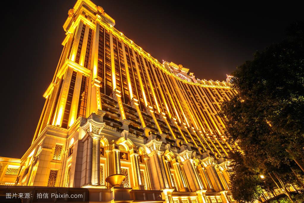 壮观的景观澳门银河看法场景生活方式照亮成瘾酒店澳门