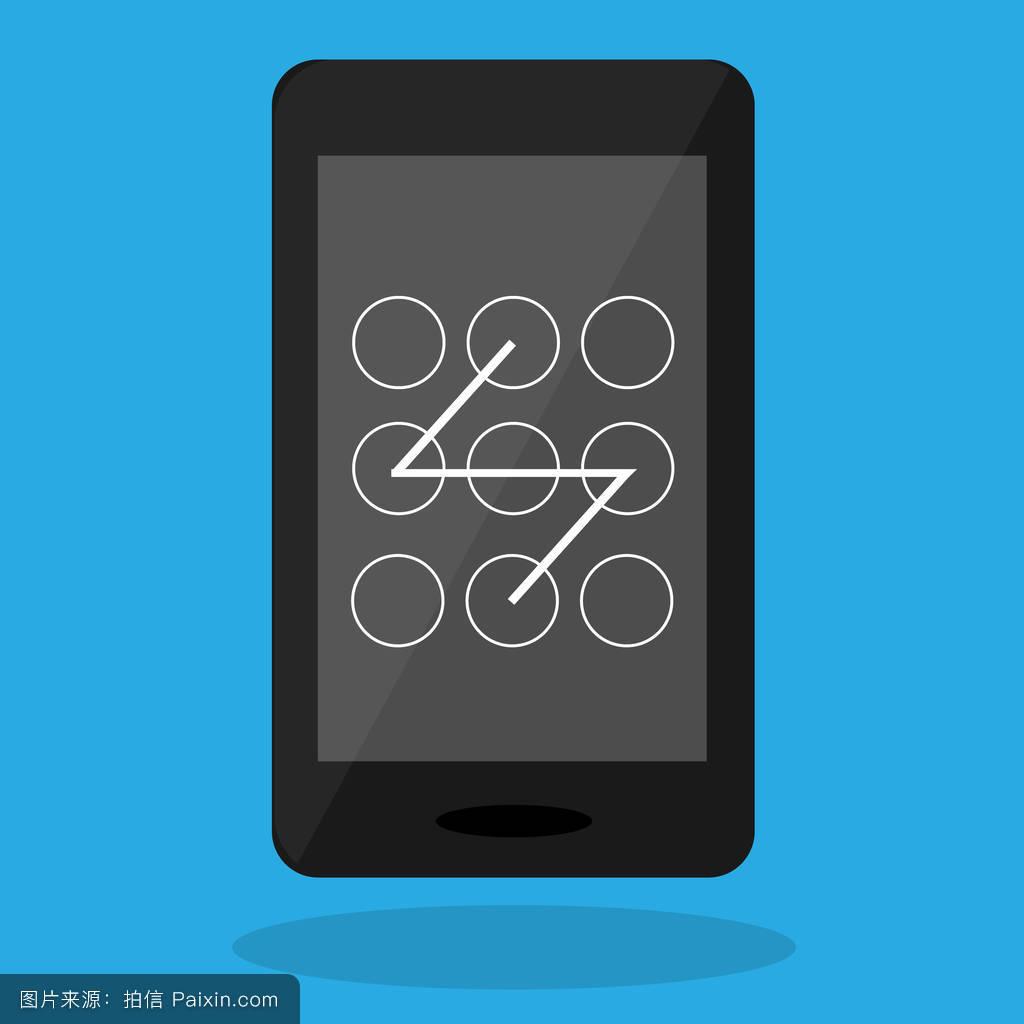 电话屏幕解锁图片