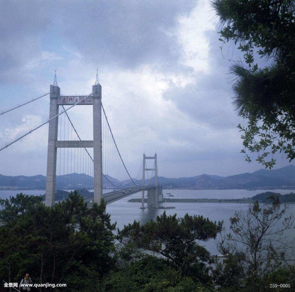广东省东莞市虎门大桥图片