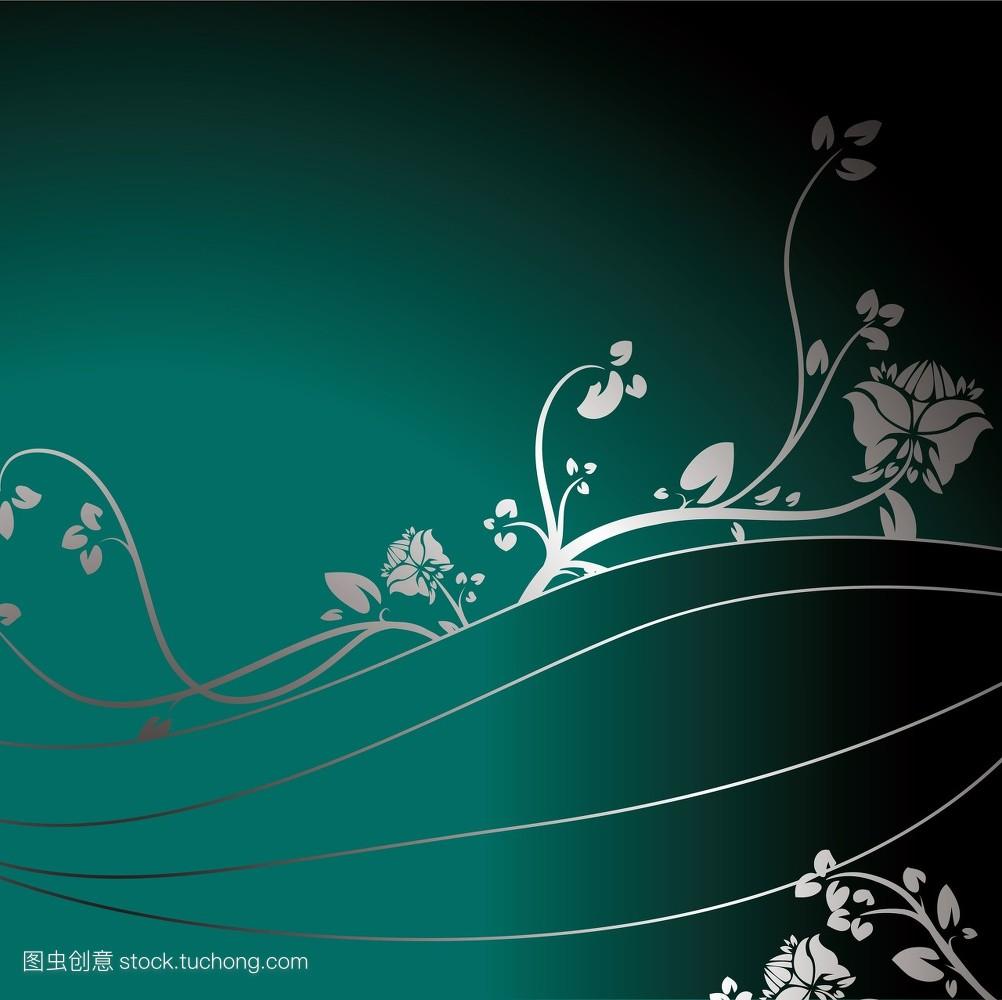 力度,创意,花卉,漩涡,概念,元素,植物,线条,策画,功率,策划,风格,幻想图片