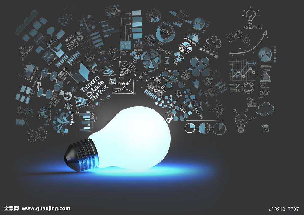 燈泡圖片創意 設計圖