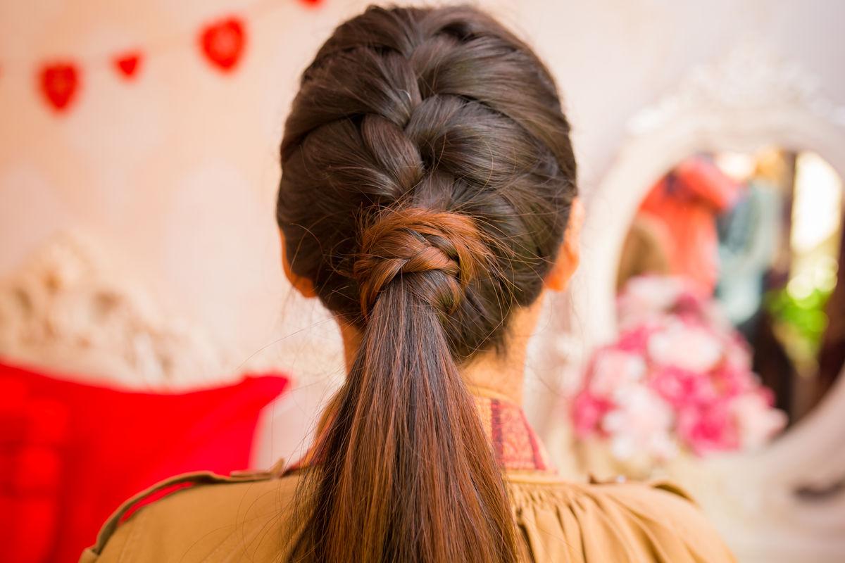 13岁女孩怎么编头发好看_发型图片