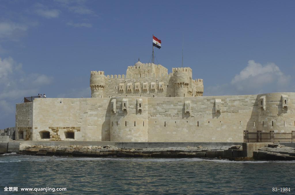 埃及亚历山大古城堡图片