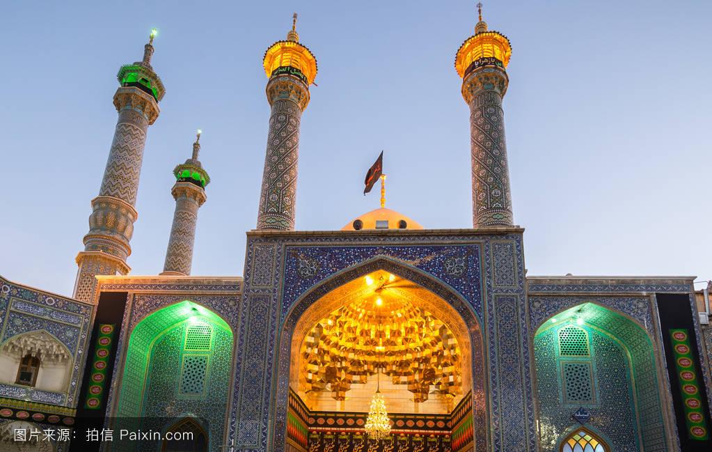 茹..�/ey�h�g*9.+yf�zh���m���y����%9�$_ghom,圣地,伊朗伊斯兰共和国,masume,傍晚,艾masumah,旅行的目的地
