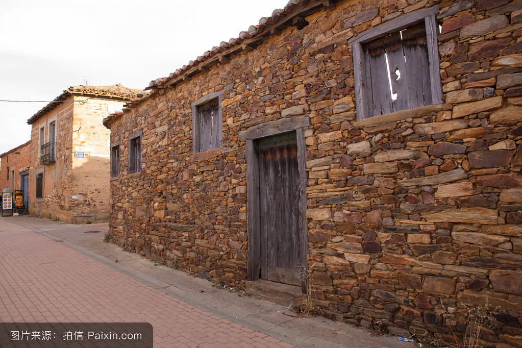 农村住宅观图片