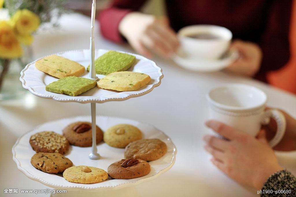 手工饼干茶点下午茶西点图片