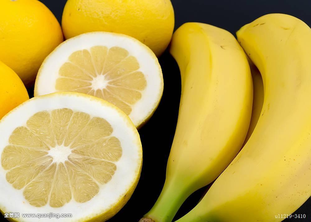 香蕉,柚子图片