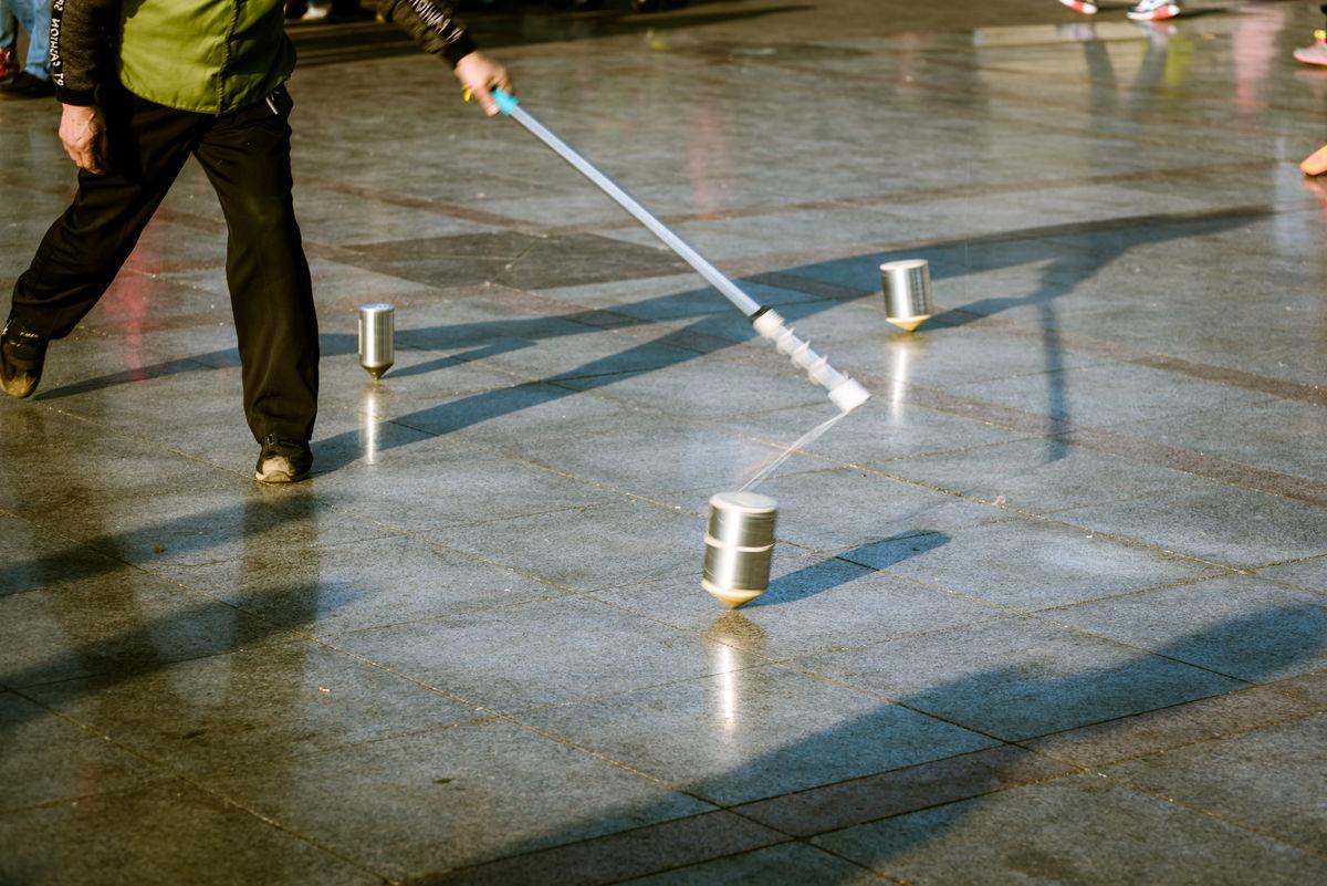 打陀螺的鞭子的制作方法