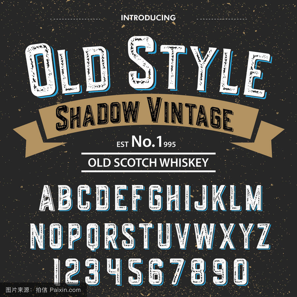font.typeface.脚本.老式的老式老式字体.图片