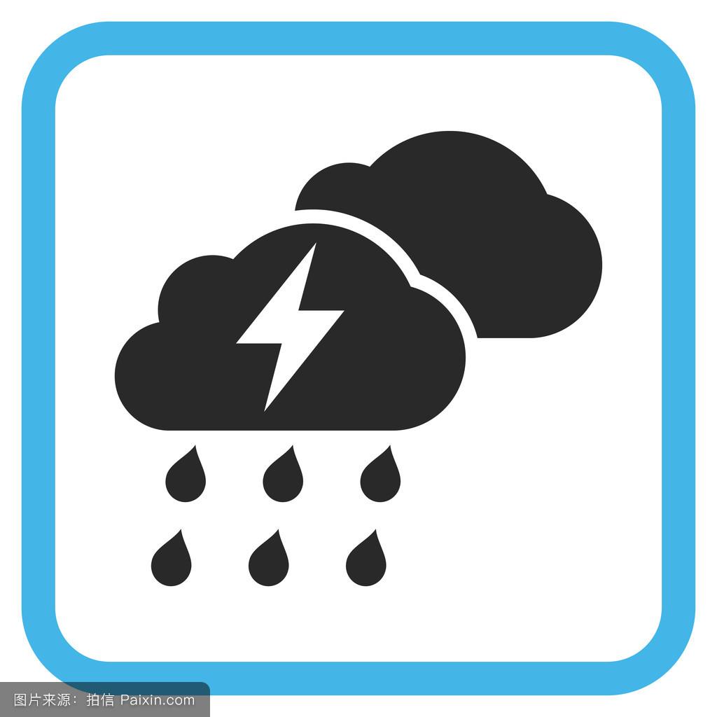 象形文字,暴风雨,预测,矩形,雕文,电压,闪电,字形图标,广场,天气预报图片