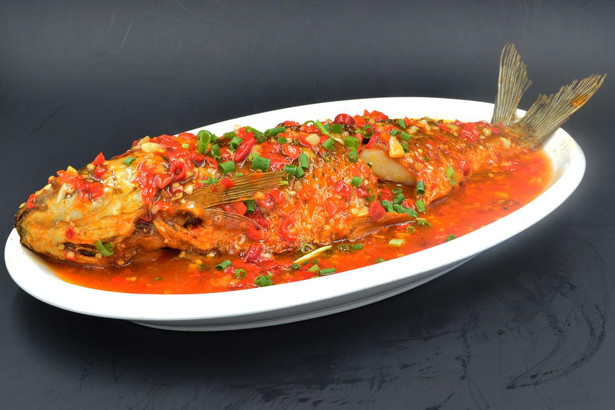 红烧鱼,红烧全鱼,红烧鲩鱼,红烧草鱼,红烧皖鱼,家常菜图片