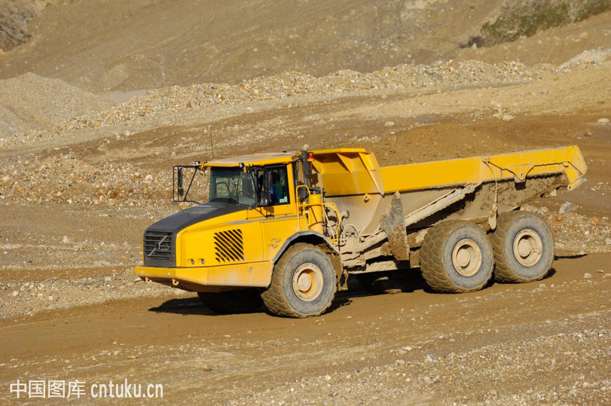 计划编制,驾车,交通方式,金属,卡车,矿,垃圾,陆地,轮胎,泥土,起重机图片