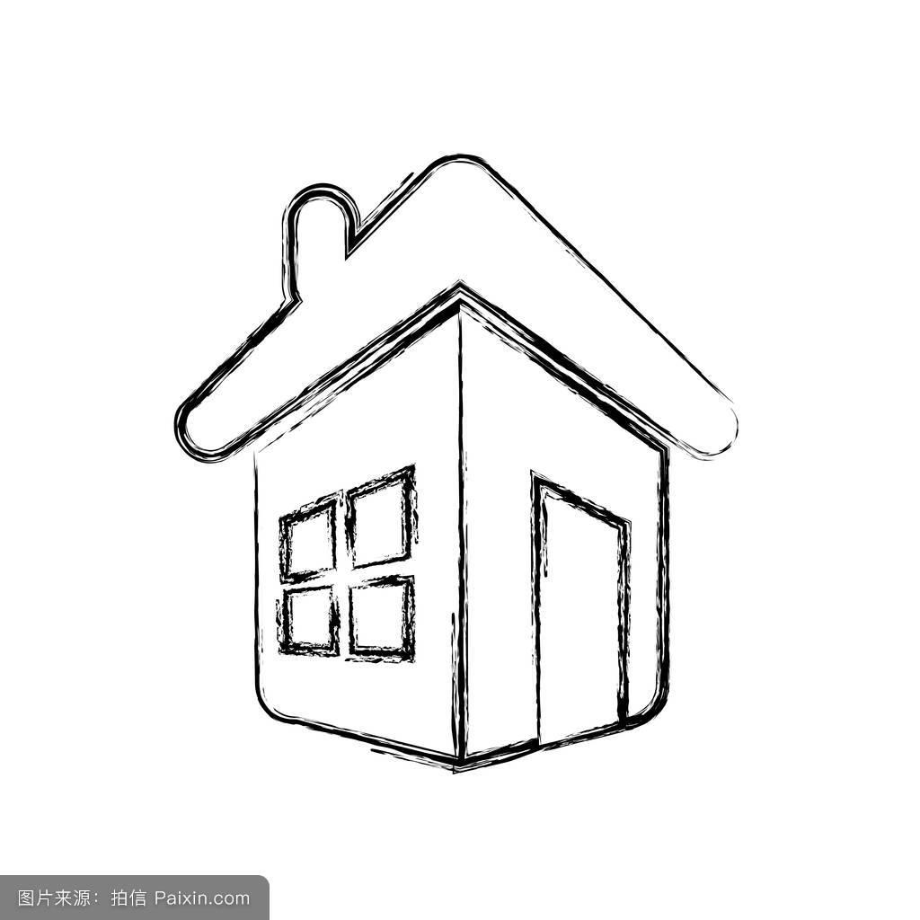 房子怎么画简单又漂亮分享展示图片