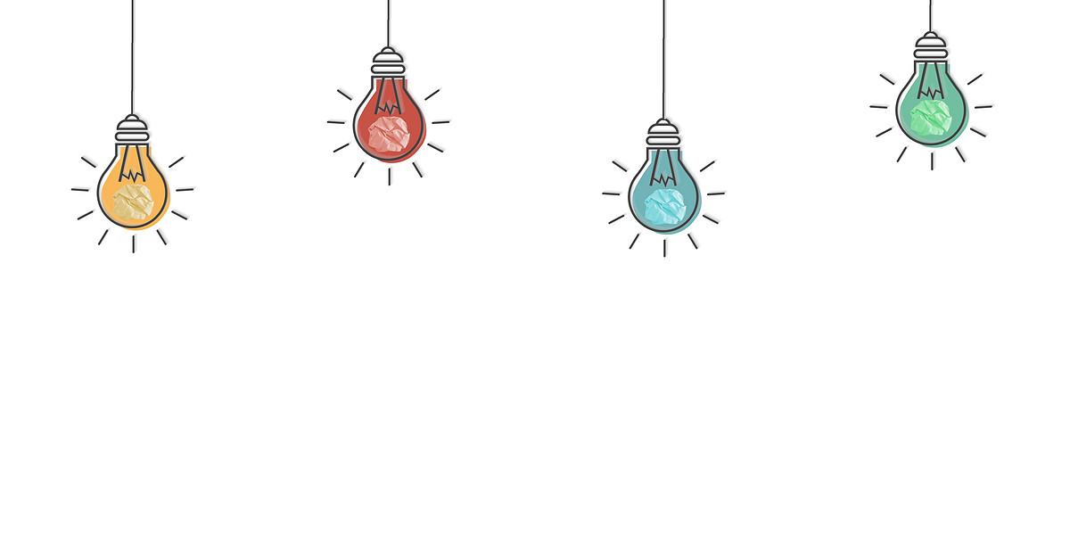创意背景,抽象,合成,概念,表达,商务,简约背景,纸团,手绘素材,ppt素材图片