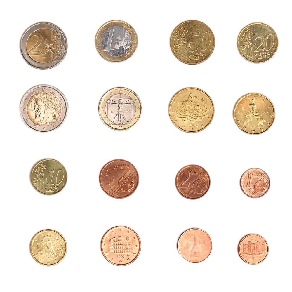 欧元硬币-意大利图片