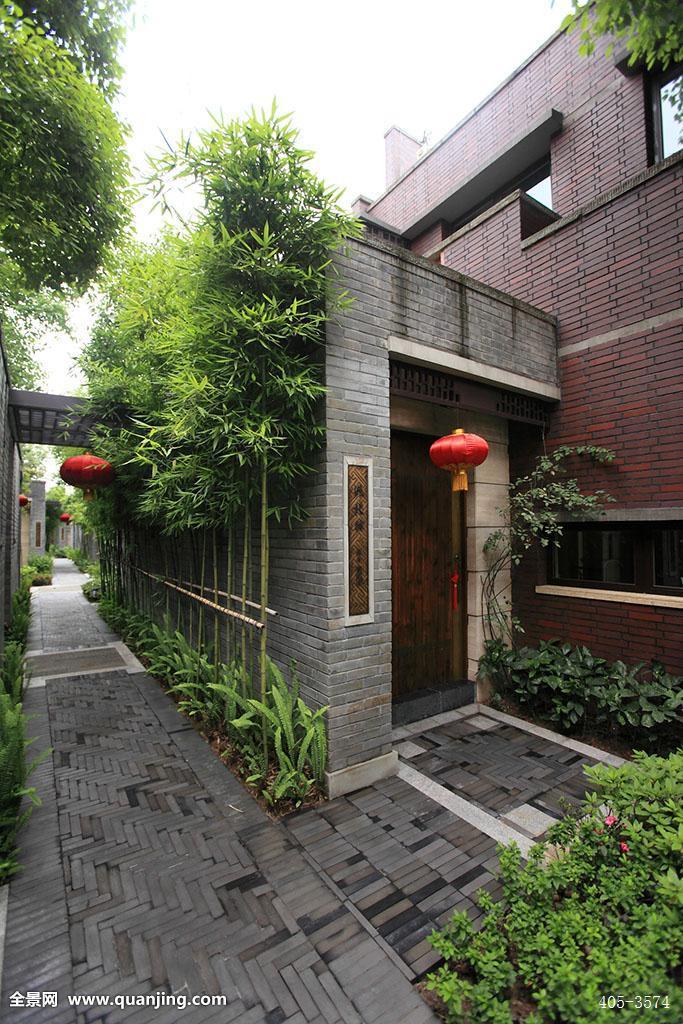 中式别墅图片