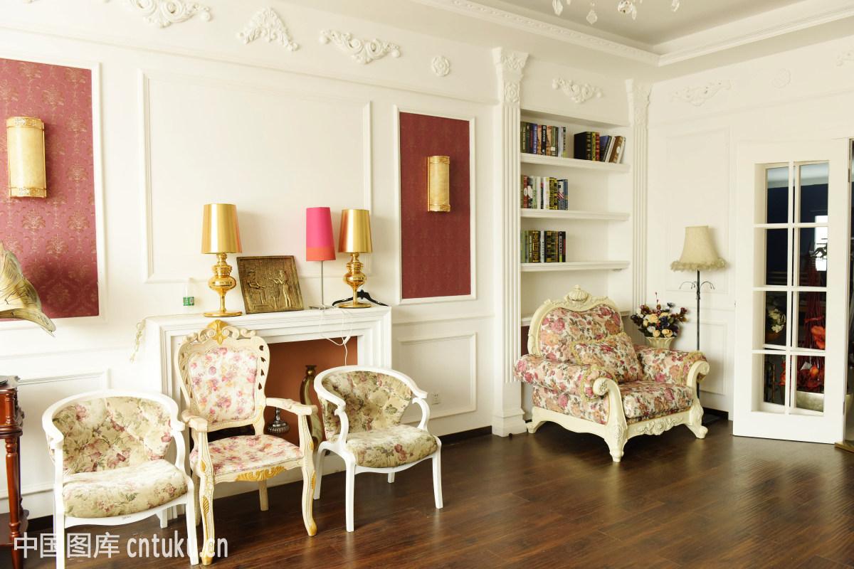 住宅家居室内装修中式陈列风格图片图片
