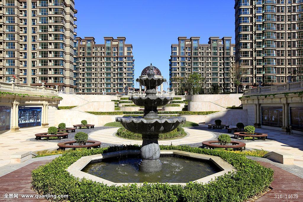 住宅小区,房地产,园林,景观,高层住宅图片