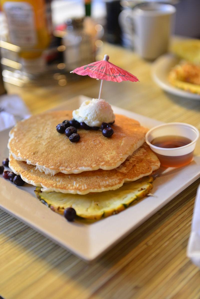 西式煎饼 pancake图片