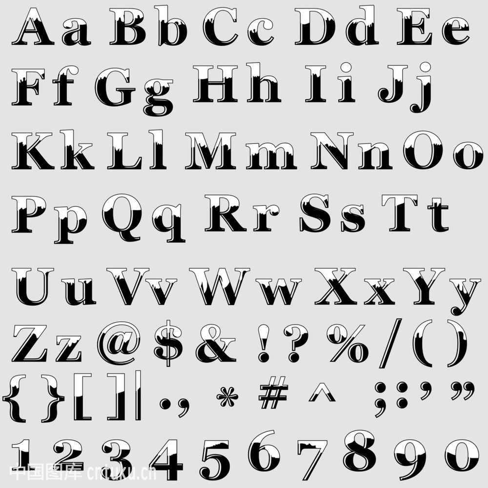 英语字母表.图片