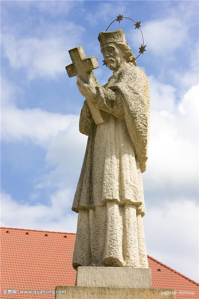 雕塑,圣徒,捷克共和国