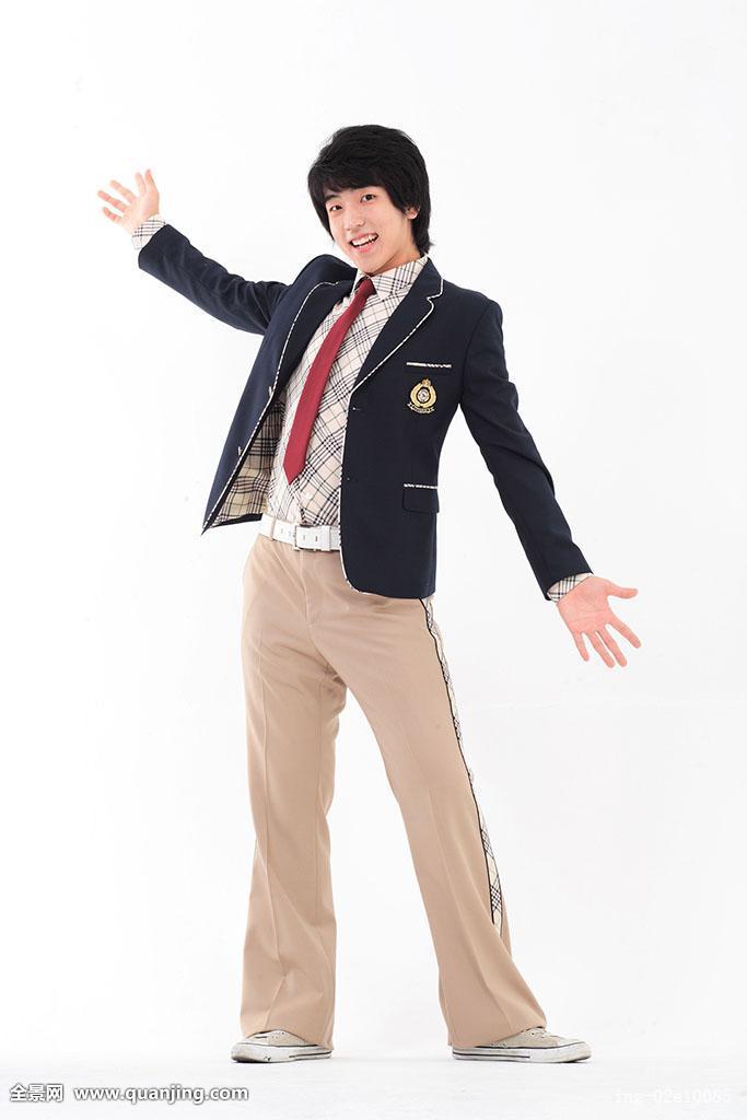 亚洲制服下载_人,亚洲人,韩国人,青春期,东方,年轻,男人,一个,姿势,站立,制服,学生