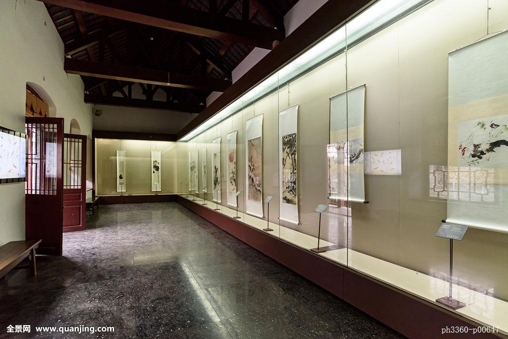 书画展厅图片