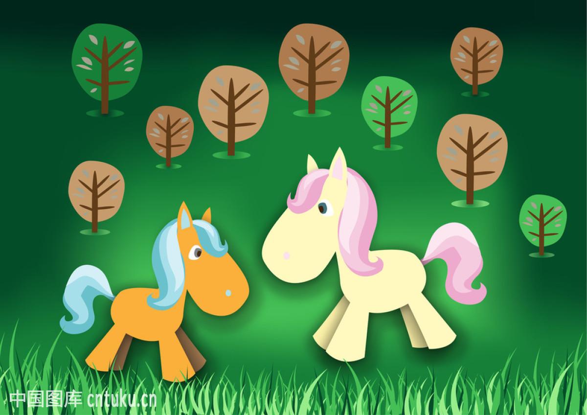 童话中的小马图片