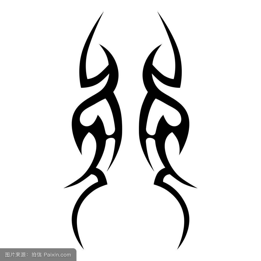 纹身包魔鬼图案小臂分享展示设计原则图片