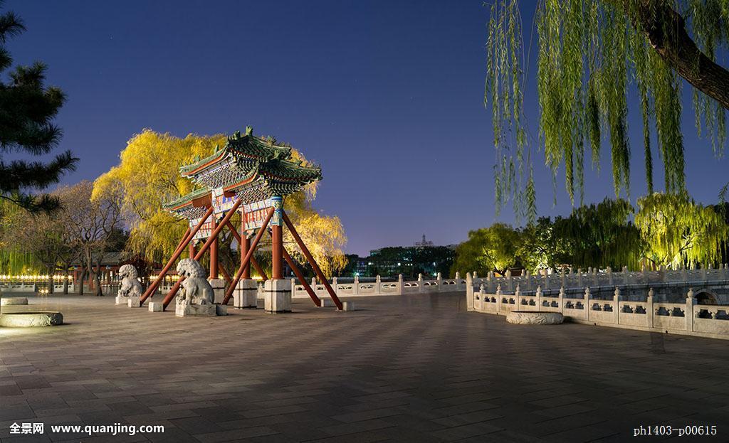 无人,全景,户外,亚太,亚洲,中国,北京,首都,北海公园,园林,皇家园林图片