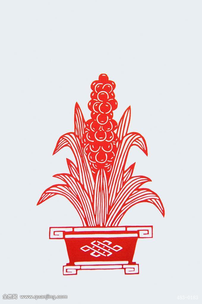 剪纸,刻纸,静物,艺术,中国元素,创意,装饰,文化,传统,非遗,文化遗产图片