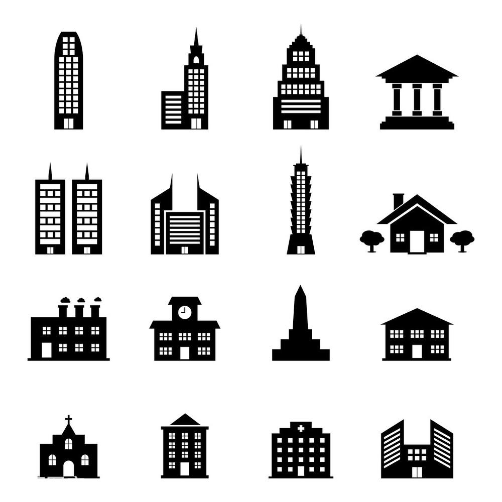 城市,城镇,传统,都市风光,工厂,制造业,简单,建筑,建筑物,郊区,轮廓