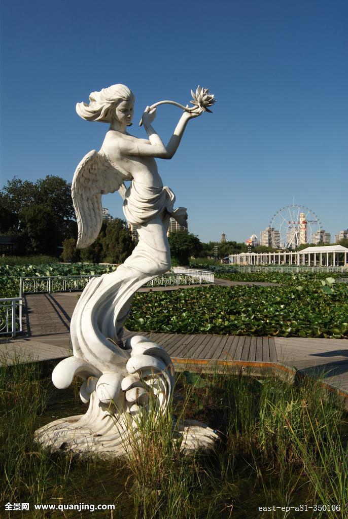 天津公园雕塑图片