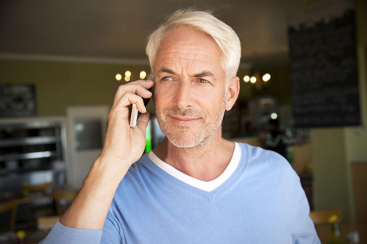老年人白头发的造型分享展示图片