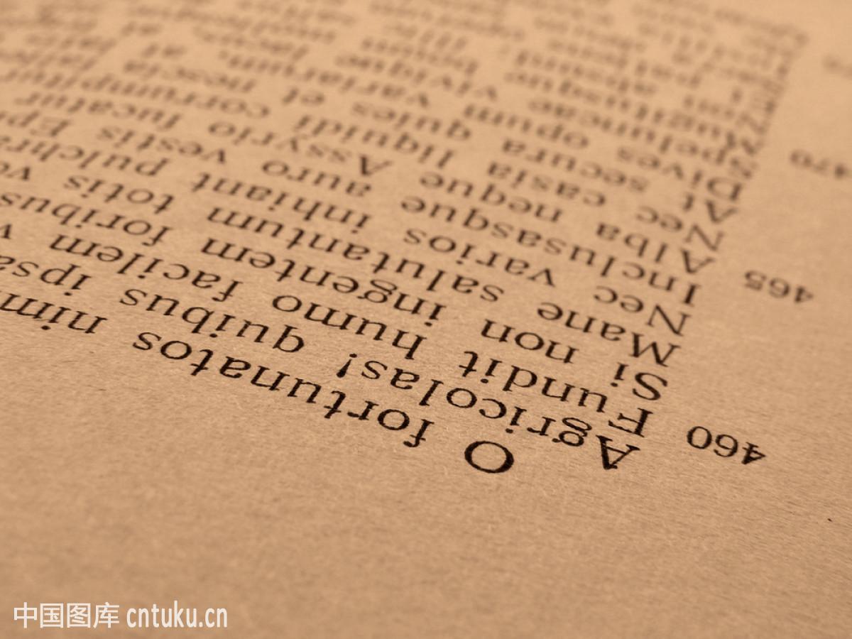 翻开的书页图片