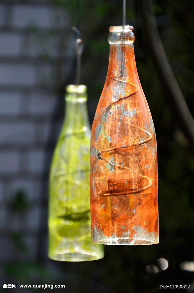 创意,装潢,装饰,户外,外景,关注,花园,花园装饰,园艺装饰,玻璃瓶,手工图片